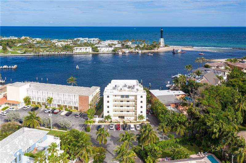 Spectacular Opportunity to live at Hillsboro Inlet