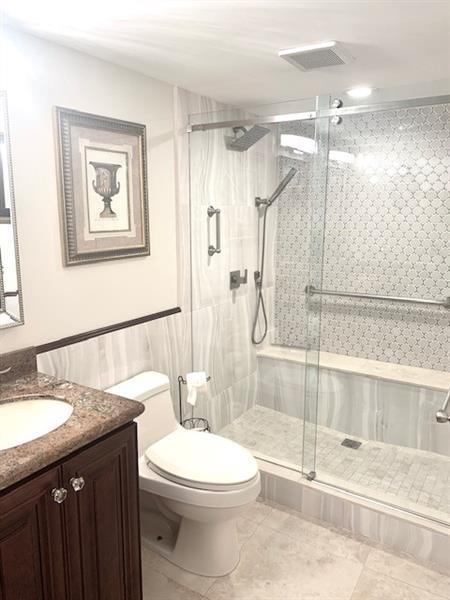 Walk-in Shower in 2nd master bath.