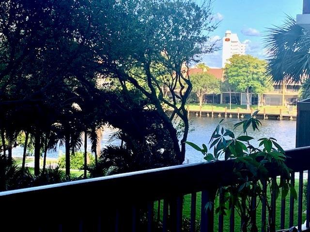 Intracoastal view from your 38' covered open balcony.