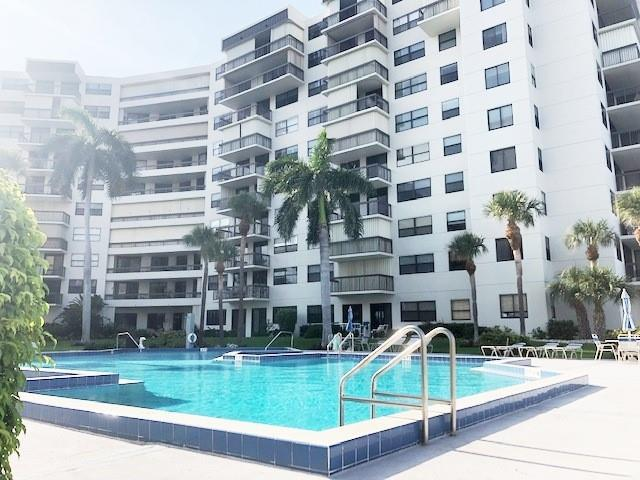 Enjoy the Florida resort lifestyle in your oversize heated pool with your unit is just steps away!