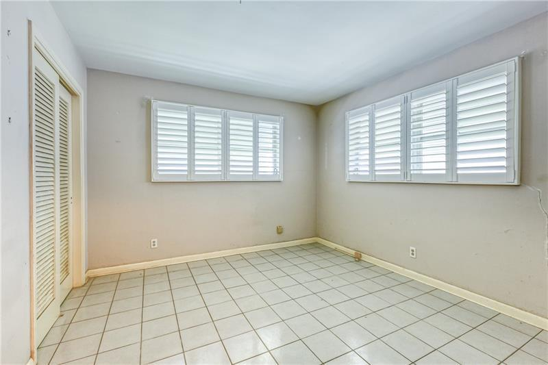 Second bedroom with tons of natural light
