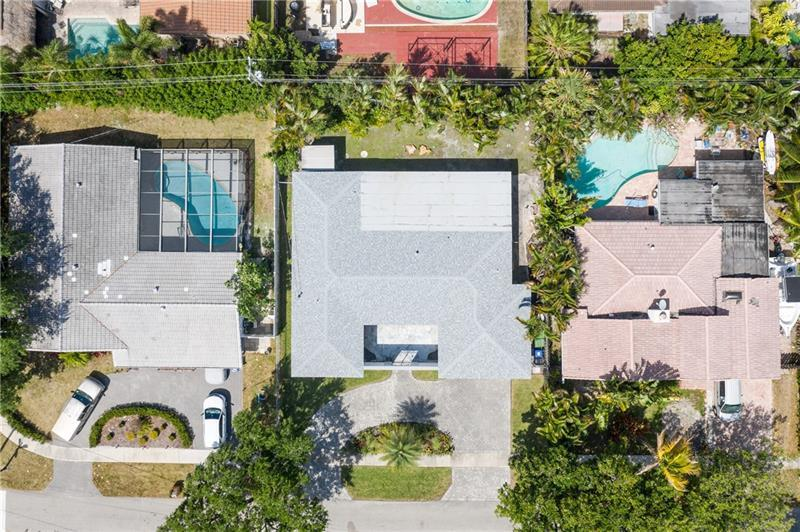 Private fully fenced and tropically landscaped backyard