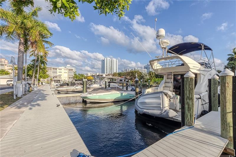 Marina and dockage