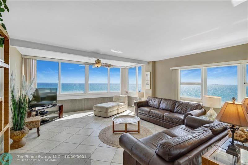 DIRECT OCEANFRONT CONDO/HOTEL ~ VACATION/INVESTMENT! The Only Beach Front Condo on the Sand that can be RENTED 365 DAYS A YEAR!! Every inch of the 1244 sq ft unit has been meticulously renovated. FLOOR TO CEILING HURRICANE IMPACT WINDOWS allows for a stunning morning sunrise. VIEWS OF THE OCEAN FROM EVERY ROOM!  Open Concept, Open Balcony Overlooking Beach and Pool, Split Bedroom & PLENTY OF STORAGE!! This Unit has a Lock-off Feature which Makes it the Perfect Investment.   Join the Fun At the Infamous Tiki Bar or a Spectacular Dinner at Casa Calabria.  One of the Best Locations on The Beach with Close Proximity to Everything South Florida has to offer.  This Unit Has an Outstanding Rental Income. History that will be Provided to All Pote