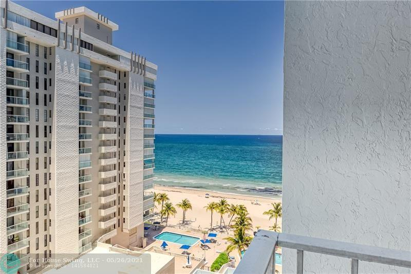 WOW, Fully RENOVATED (2018) 2 Bedroom, 2 Bath condo in the popular POMPANO AEGEAN on the BEACH with beautiful OCEAN VIEWS! WASHER and DRYER INSIDE the unit. This CONDO includes all the latest TECHNOLOGY: WHIRLPOOL Tub, SMART TOILETS with Integrated BIDET, APURE MINUS Ceiling Lighting System, Smart THERMOSTAT, SAMSUNG Family Hub Refrigerator. One assigned parking space but plenty of guest parking for your second car. This building is located on a WIDE section of SANDY BEACH just south of the POMPANO BEACH PIER and developing POMPANO FISHING VILLAGE as well as ATLANTIC Blvd.! Close to many RESTAURANTS and SHOPS! Building includes all the amenities: POOL, SPA, BEACH ACCESS, Ping-Pong, FITNESS CENTER, Library and Recreation Room. Must See to Ap