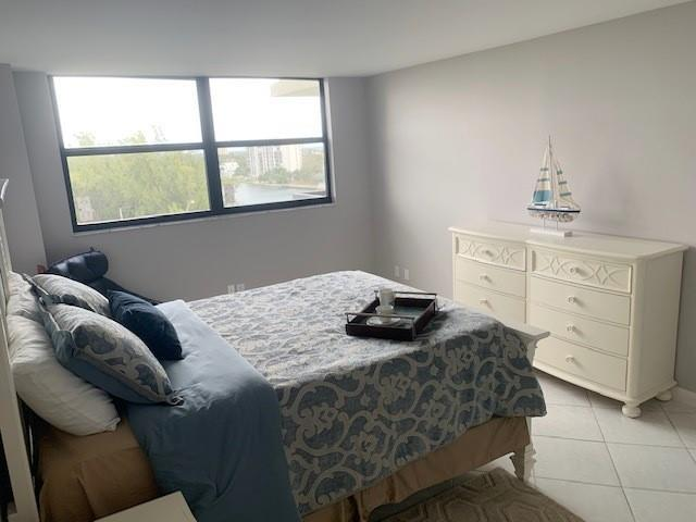 Master bedroom with NEW hurricane impact windows with water views