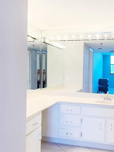 Separate Dressing area in the master bathroom that gives you 2 sinks