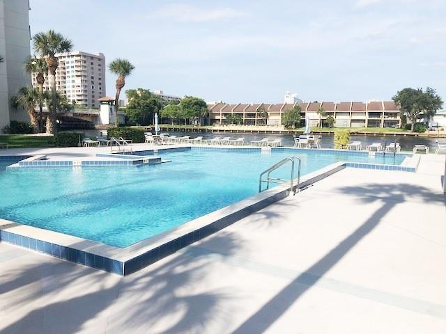 Resort style heated pool. Come live the Florida lifestyle.