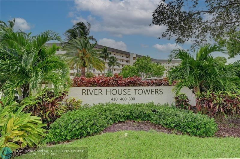 Fantastic views from this beautiful updated top floor unit, overlooking the Hillsboro River and the magnificent homes at  Royal Palm Yacht and Country Club. Impact sliding doors from living room and master suite to a fantastic balcony, balcony also has electrically operated roll-down shutters. This unit is being offered either as presented in pictures, fully furnished, or unfurnished. Dockage is available for only $2.25/ft., and I have been told by dockmaster that there is dockage available. Covered parking for your car. Special Assessment has been paid in full, and 40 year inspection and repairs have been done, with all documentation.