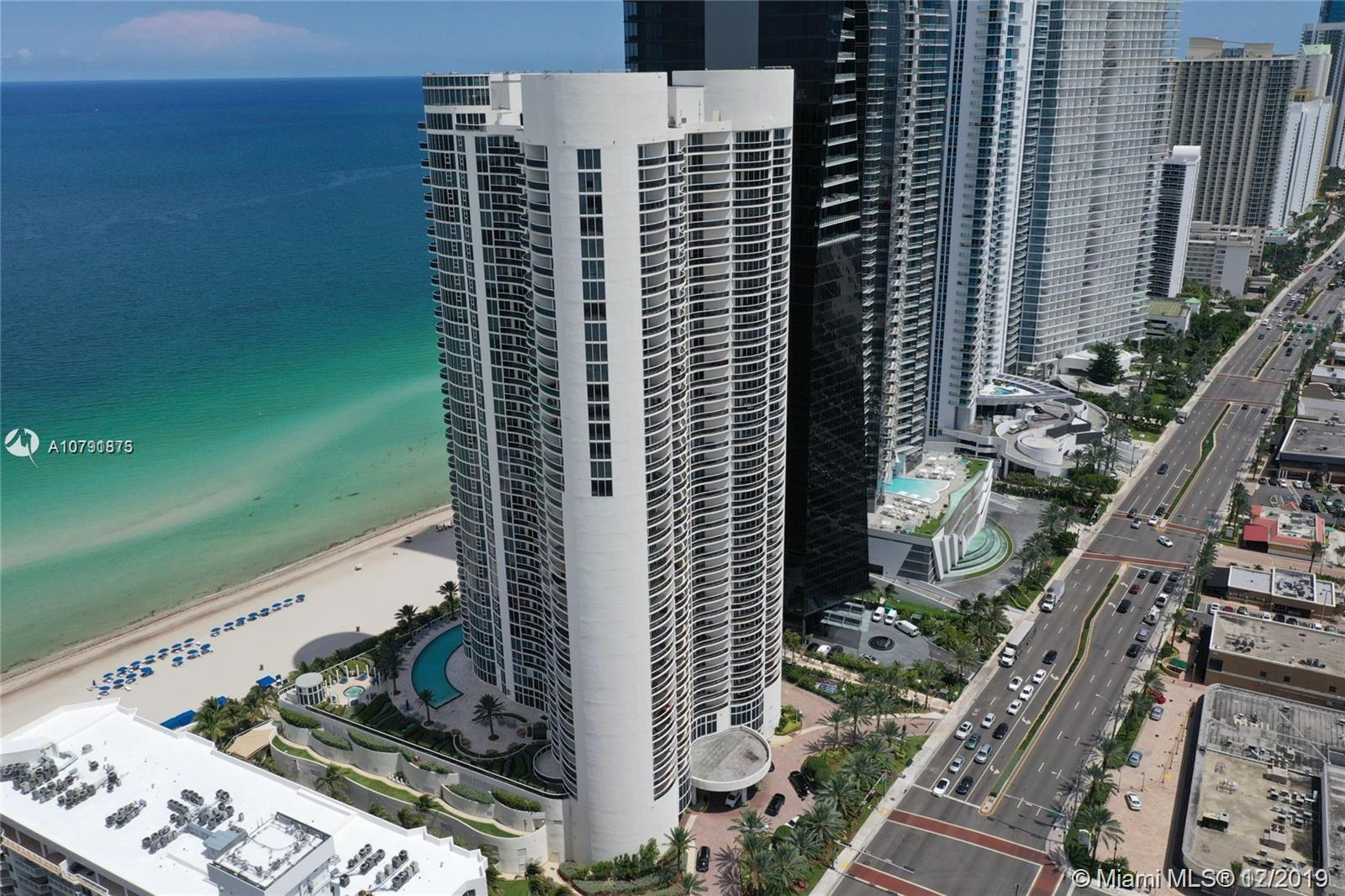 Beautiful unit with gorgeous ocean view is Sunny Isles ocean front Ocean 4 building.  2 bedrooms wit