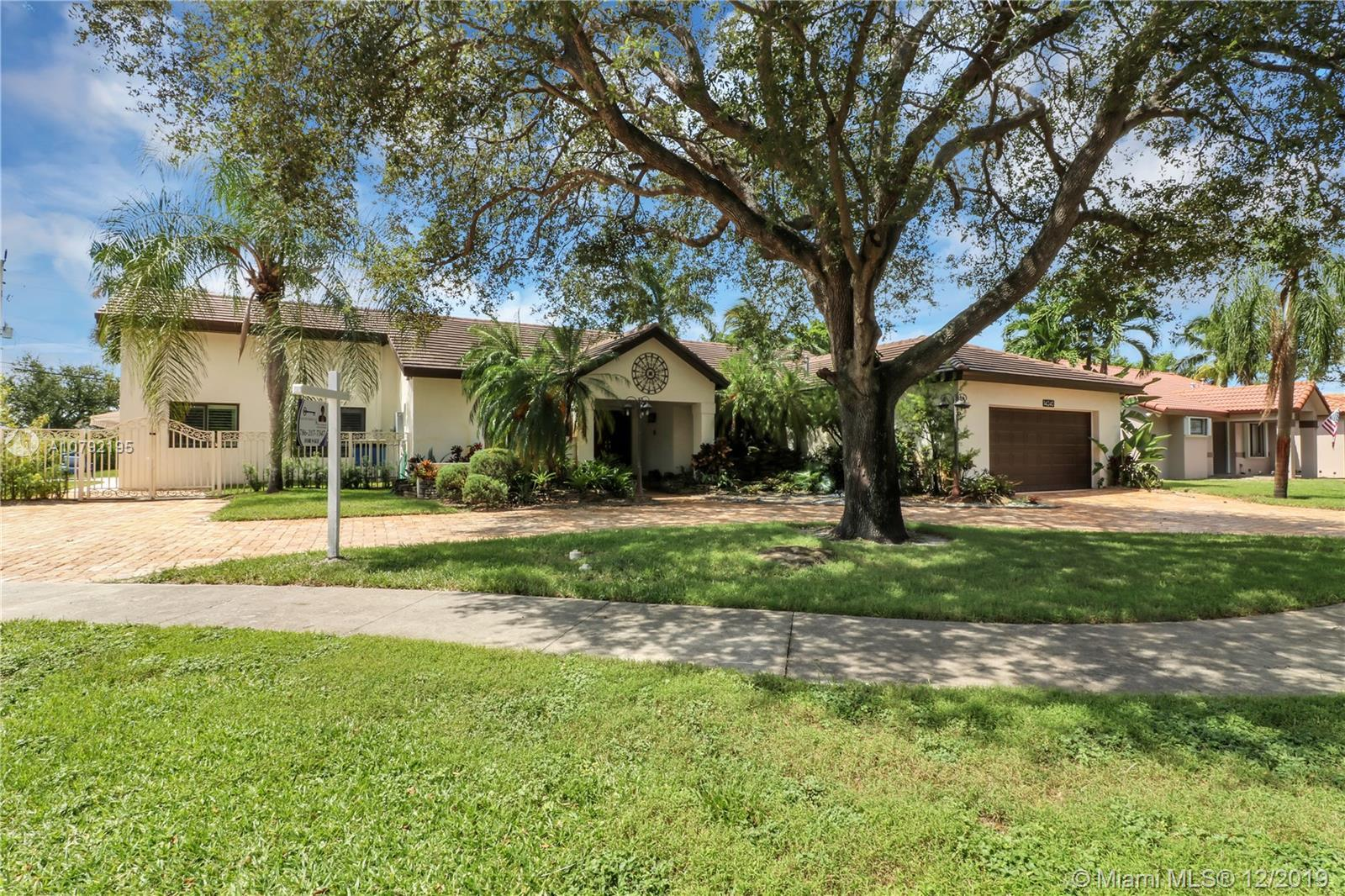 Perfect multi-generational home. This pool home with large yard is perfect for a large family. There