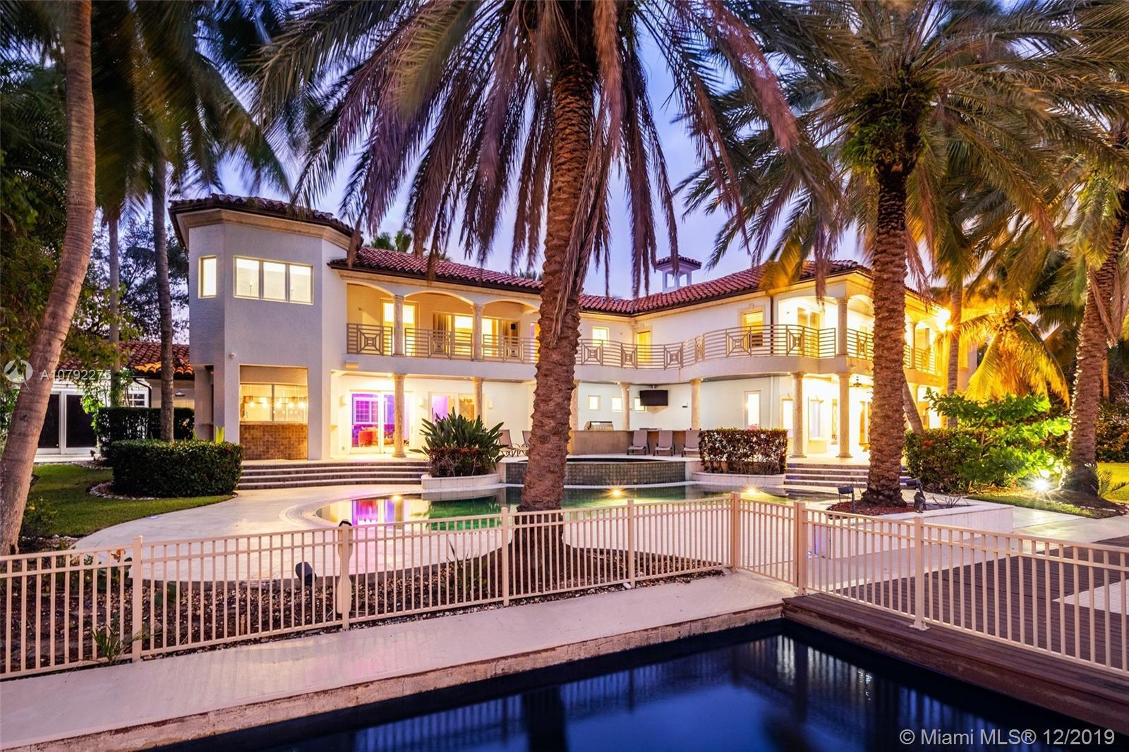 Stunning entertainers paradise boasting 154 feet of deep water frontage on a 19,500 Sq Ft lot. 2 mas