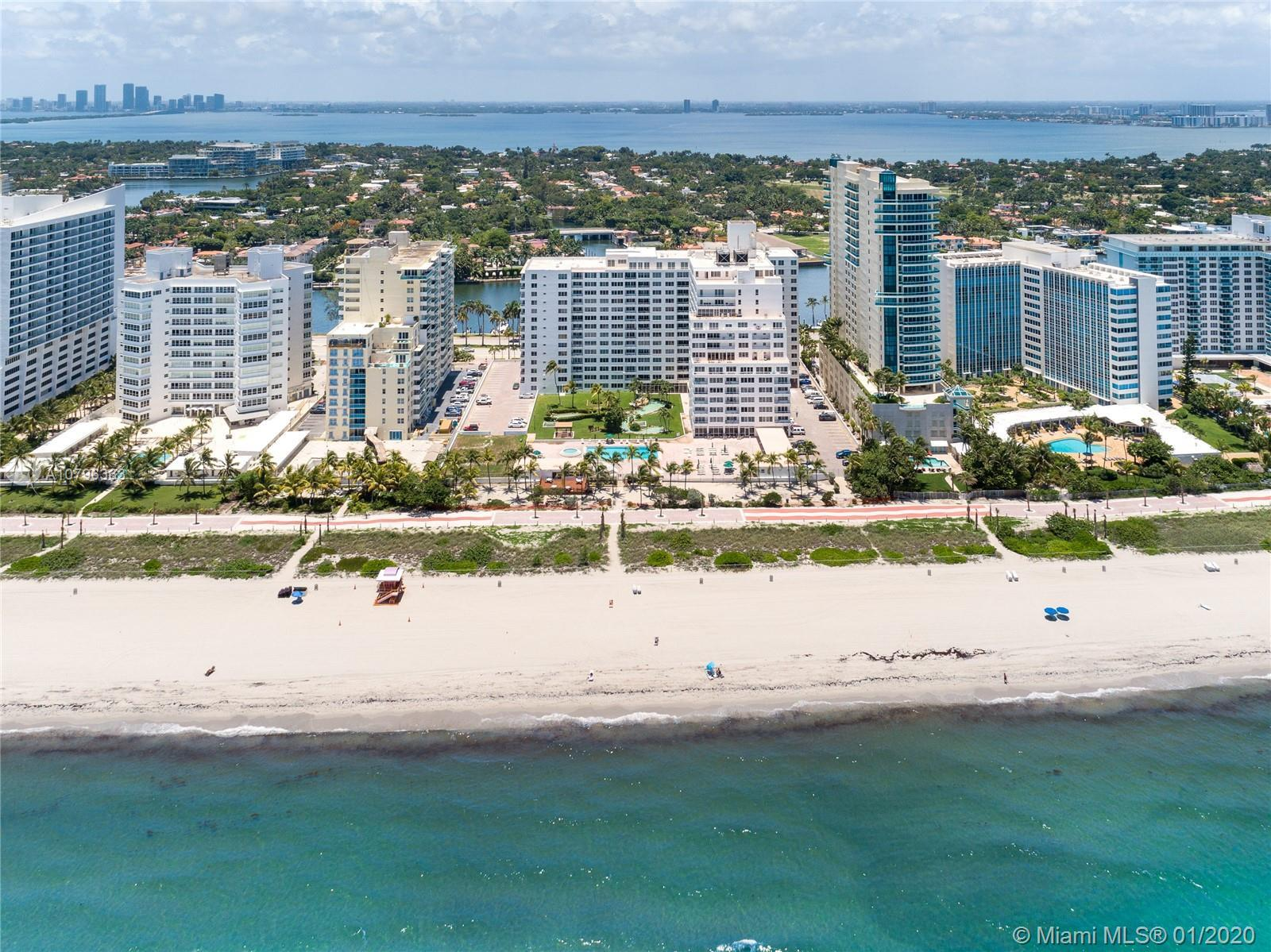 Amazing BEACHFRONT and Turn-Key Pied-a-Terre at Newly fully REMODELED Carriage Club. Updated unit fe