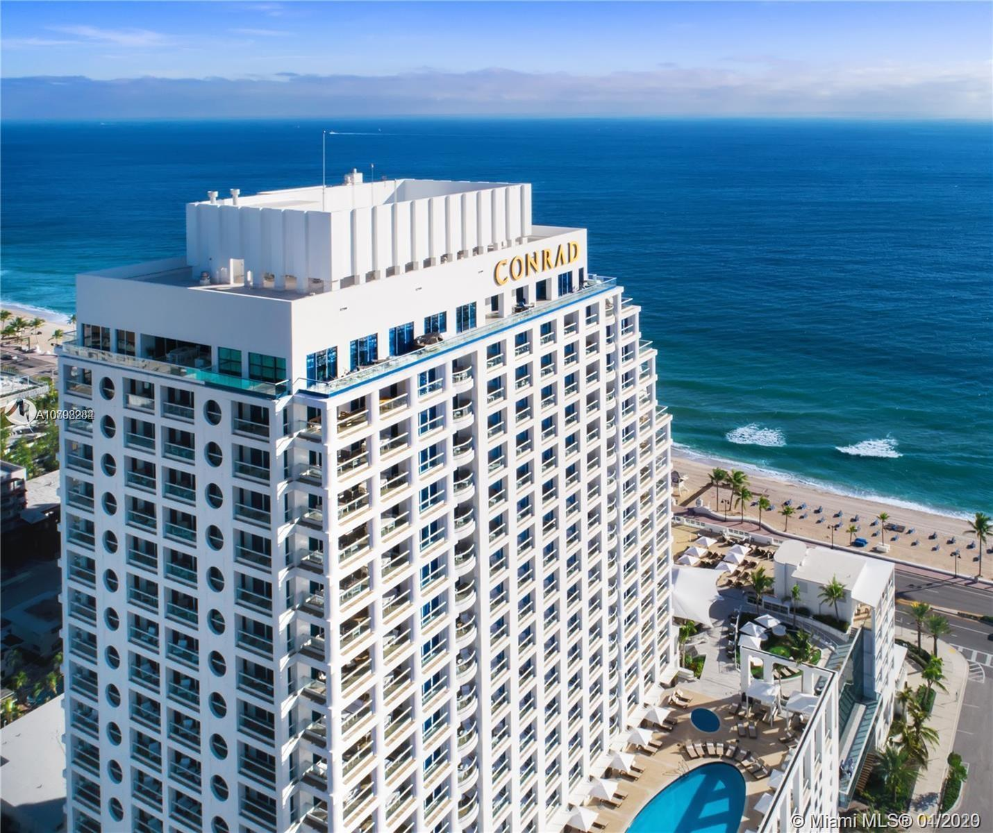 Enjoy The Ocean Residences-Conrad Resort Ft Lauderdale. PRICED TO SELL. Impeccable residence, turnke