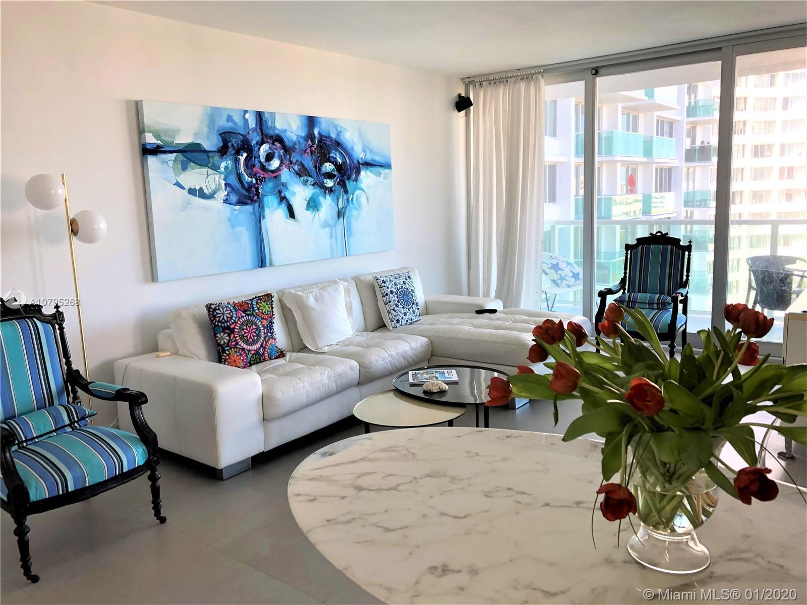 Very Elegant lots of light for this high-end renovation Corner  2 bed 2 baths, open white kitchen wi
