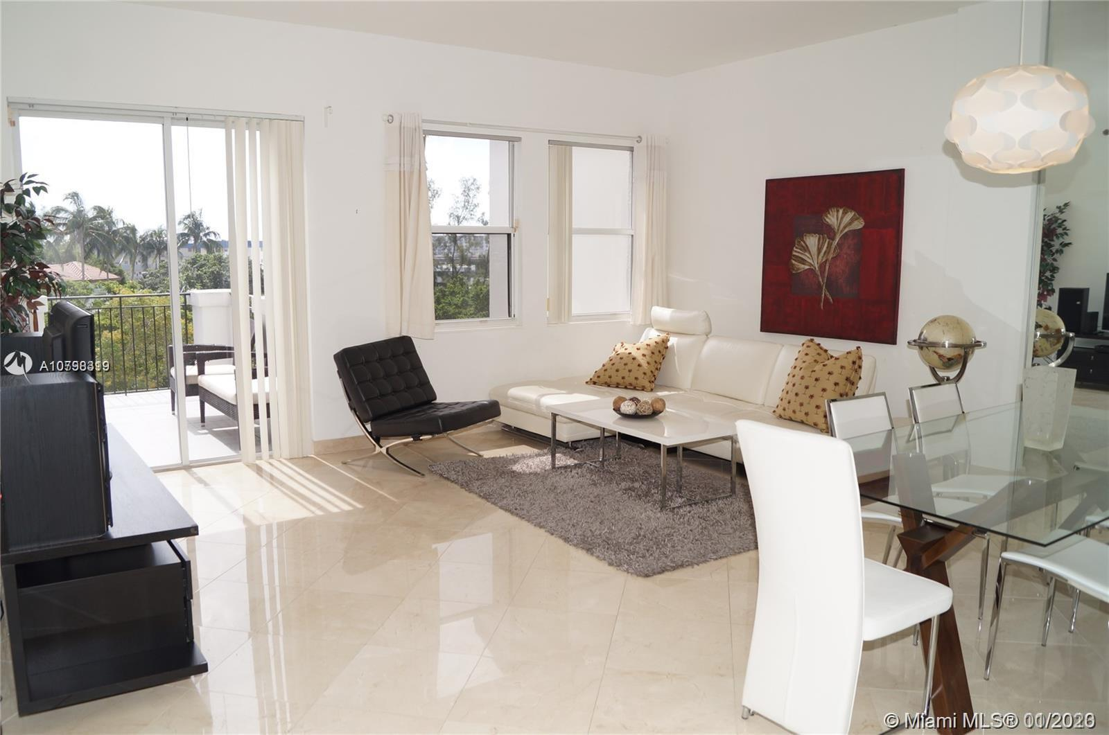 Spacious 2 bedroom, 2 bath unit with high ceilings, large closet space, multiple balconies in the he