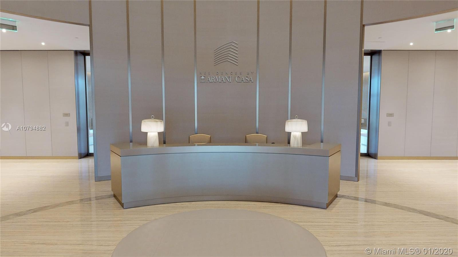 Armani is Sunny Isles most newest and luxurious building. This flow through designer ready unit has