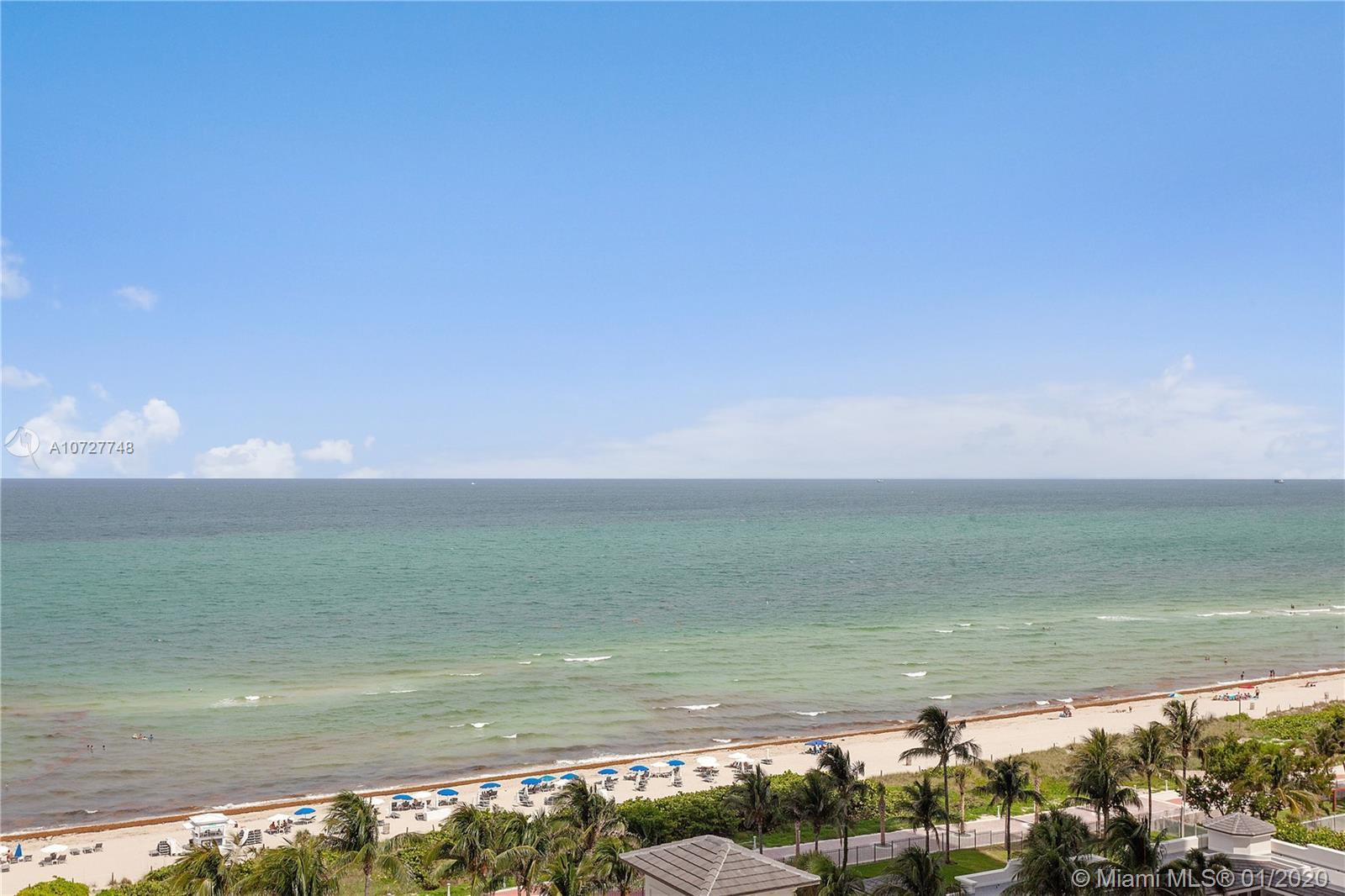 Enjoy breathtaking views of the ocean, bay and city from this SW corner fully furnished 2 bedrooms/2