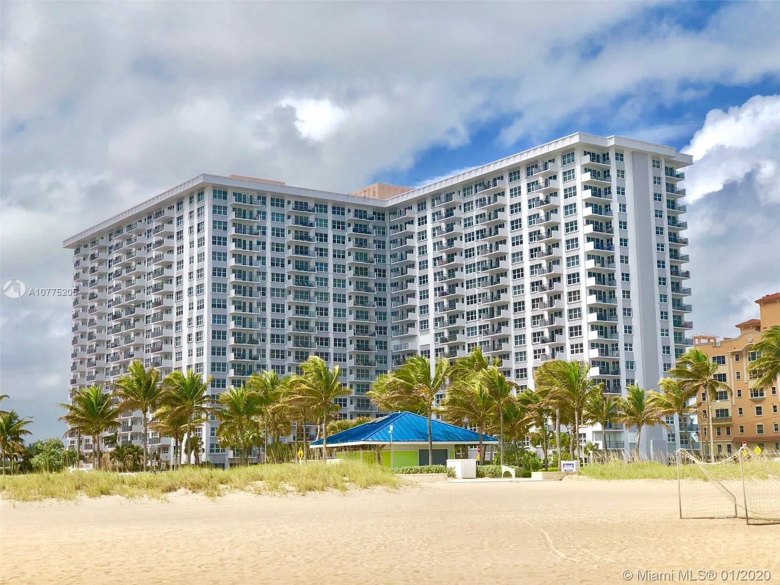 Fully furnished updated unit with intracoastal view. Furniture included. Assigned covered parking, 2