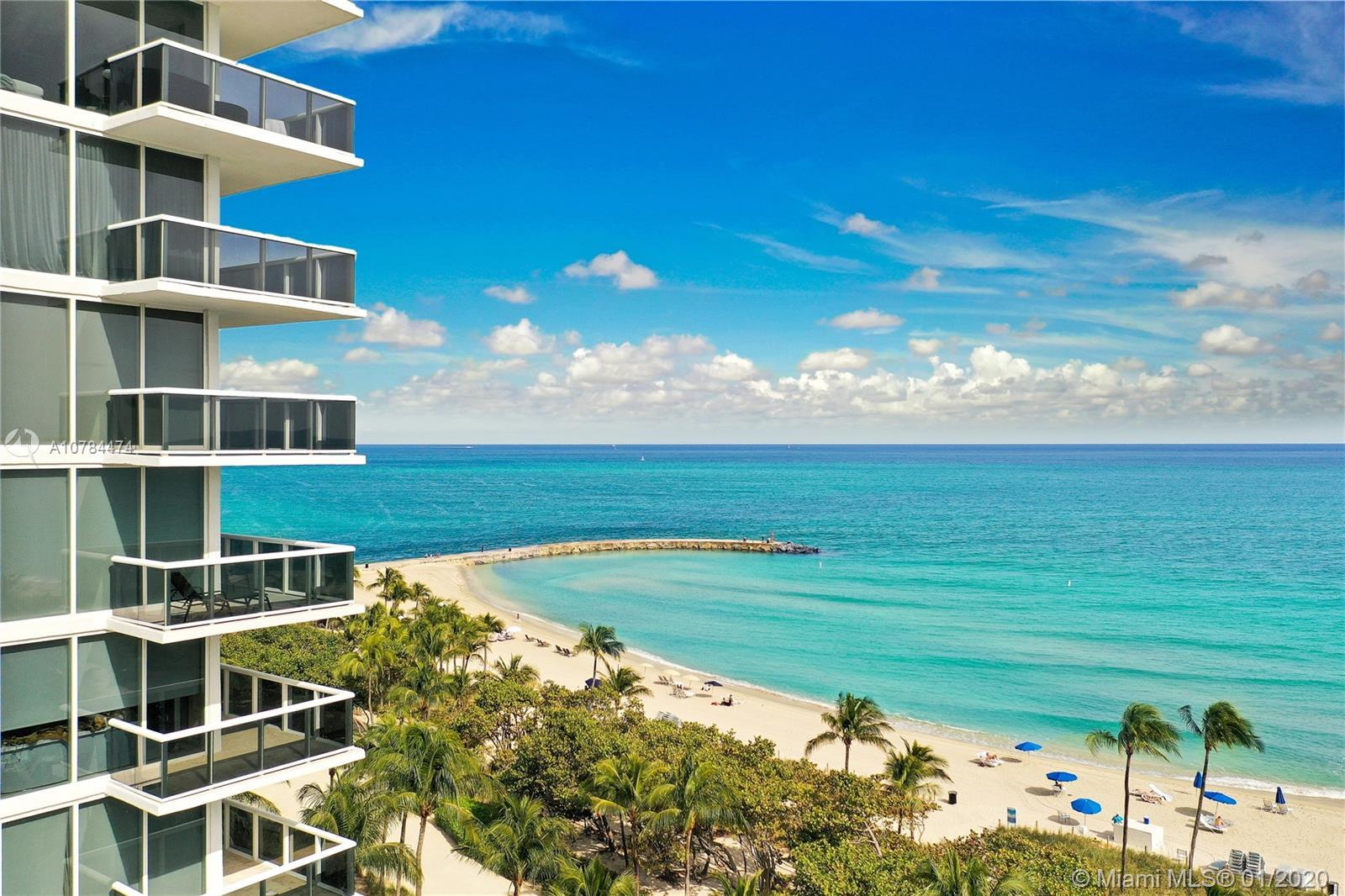 Lower penthouse unit with unobstructed Ocean views from every room! Open concept Italian kitchen wit