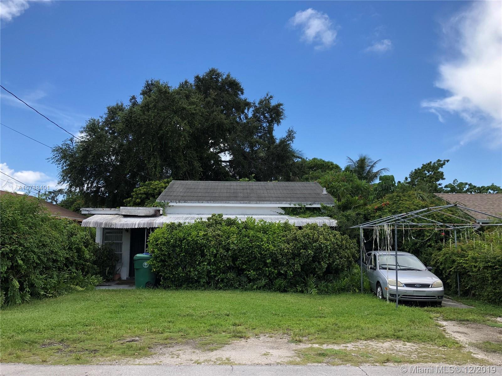 Probate Sale! Opportunity to buy in the heart of Coconut Grove that is experiencing a resurgence. St