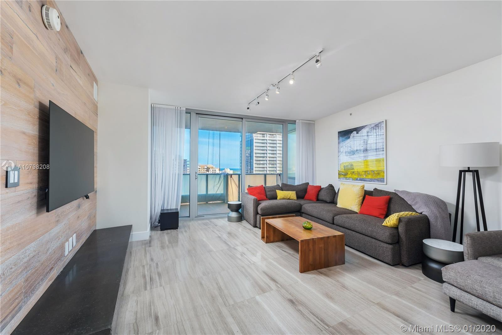 Beautifully renovated, fully furnished, upgraded and modern 1-bed 1.5 bath unit at the Epic in downt