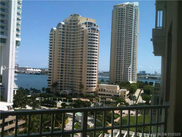Furnished Beautiful 1 bedroom apartment in immaculate condition. Very spacious unit at Brickell Key.