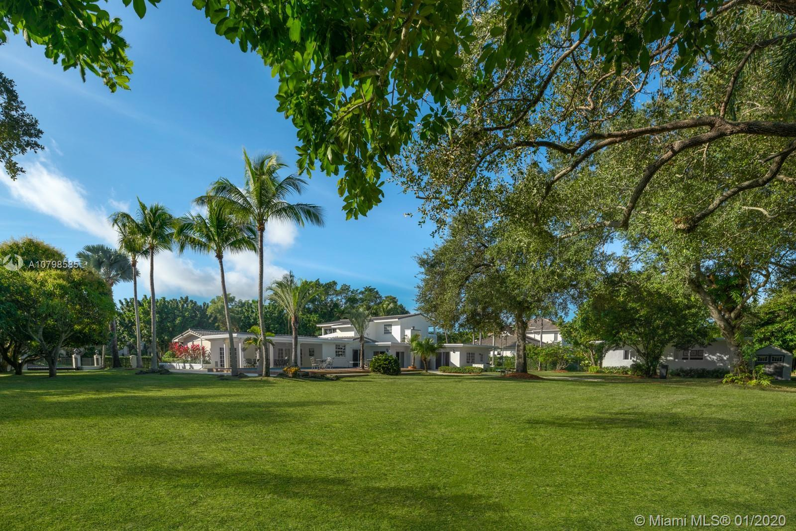 Meticulously renovated, magazine quality 6BR/5BA pool home on one of the largest lots available in P
