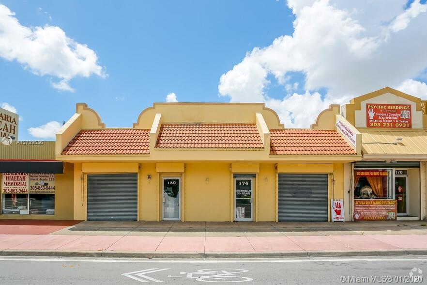 This package deal includes store 174 Hialeah drive and 180 Hialeah Drive.  Prime investment opportun