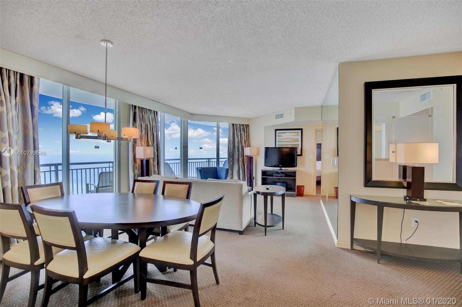 WOW! Breathtaking Direct Ocean Views from every room! This super spacious 3 bedroom 2 bathrooms at t
