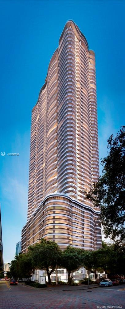 Brickell Flatiron's innovative architectural design introduces flowing curvilinear forms to accommod