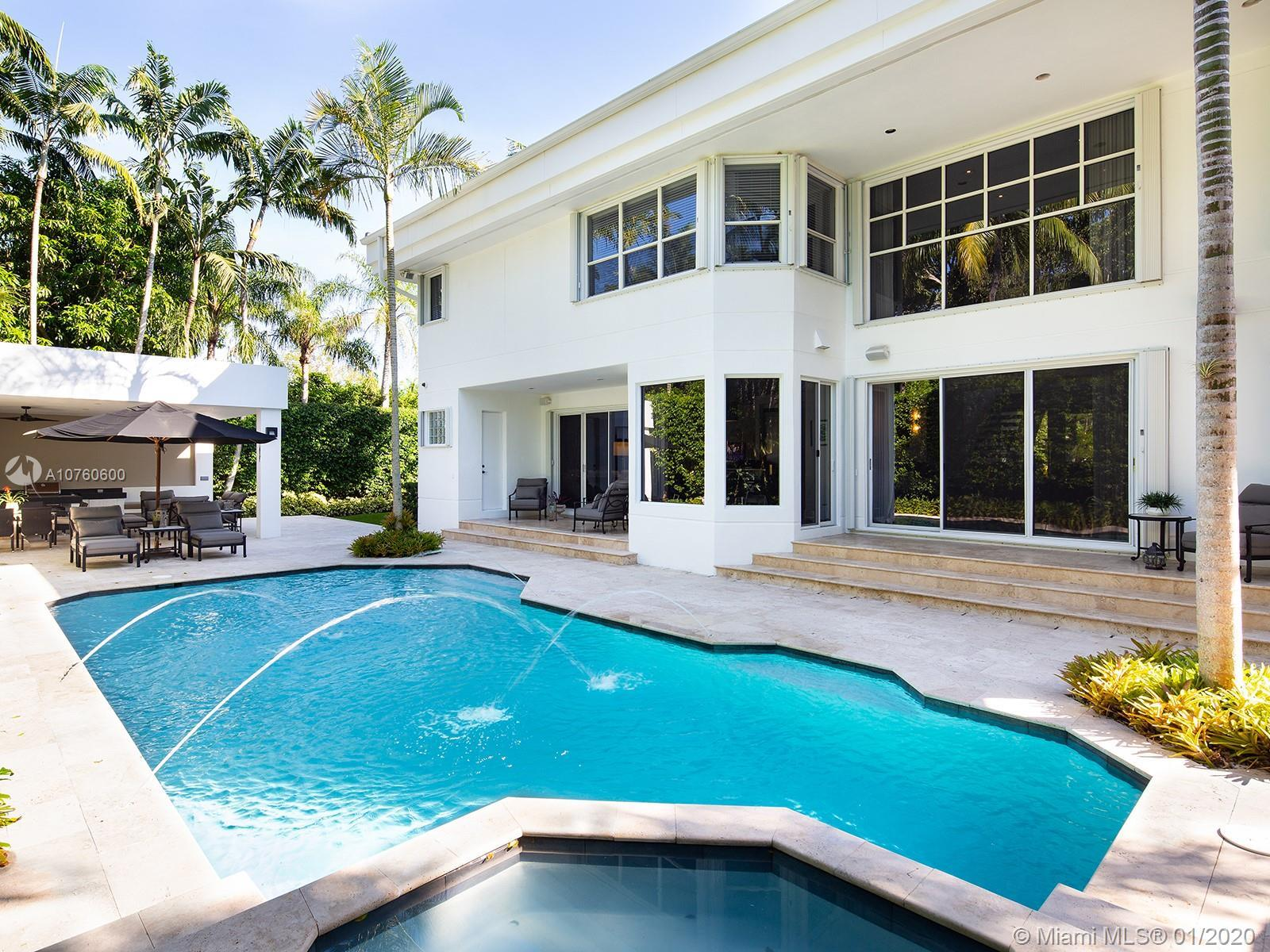 Contemporary and impeccable custom build home by famous architect Barry Sugerman. Located in a priva