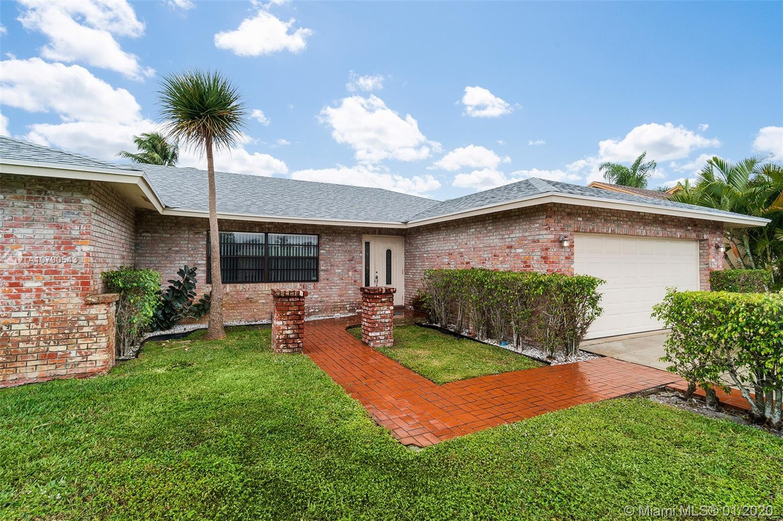 Location! Location Beautiful 4/2 Home with screened enclosed Pool, 2 Car garage, open floor plan, Up