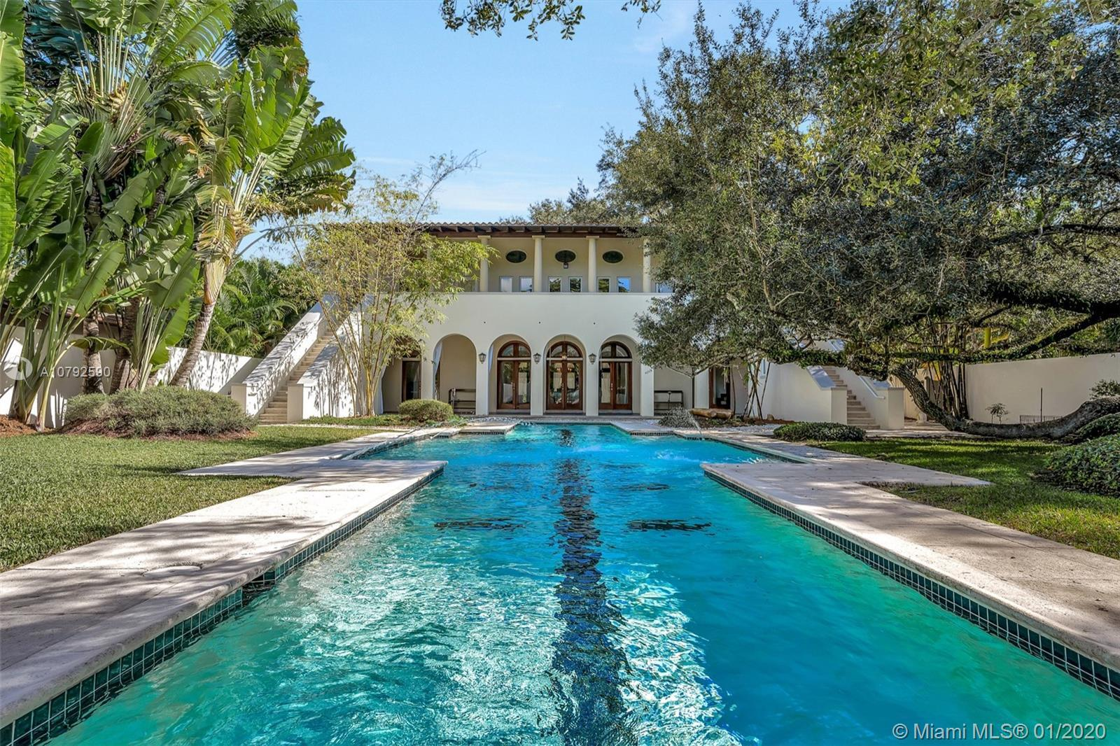 Welcome to this classical, custom built South Grove Estate. Designed by architect Rafael Portuondo a
