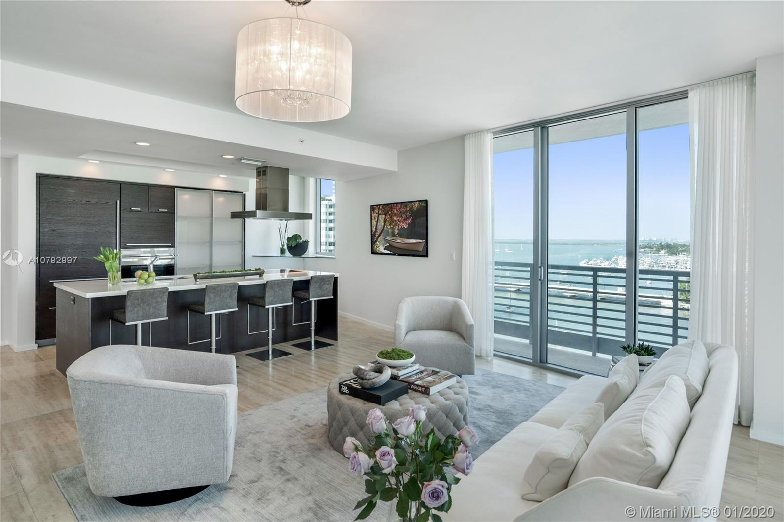 Enjoy the best of Miami Beach - live on the quiet side while being close to all the action!  Beauti