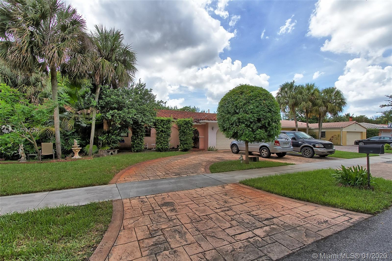 Location, Location, Location ! One look at this 4 Bedroom 2 Bathroom POOL house in the heart of Miam