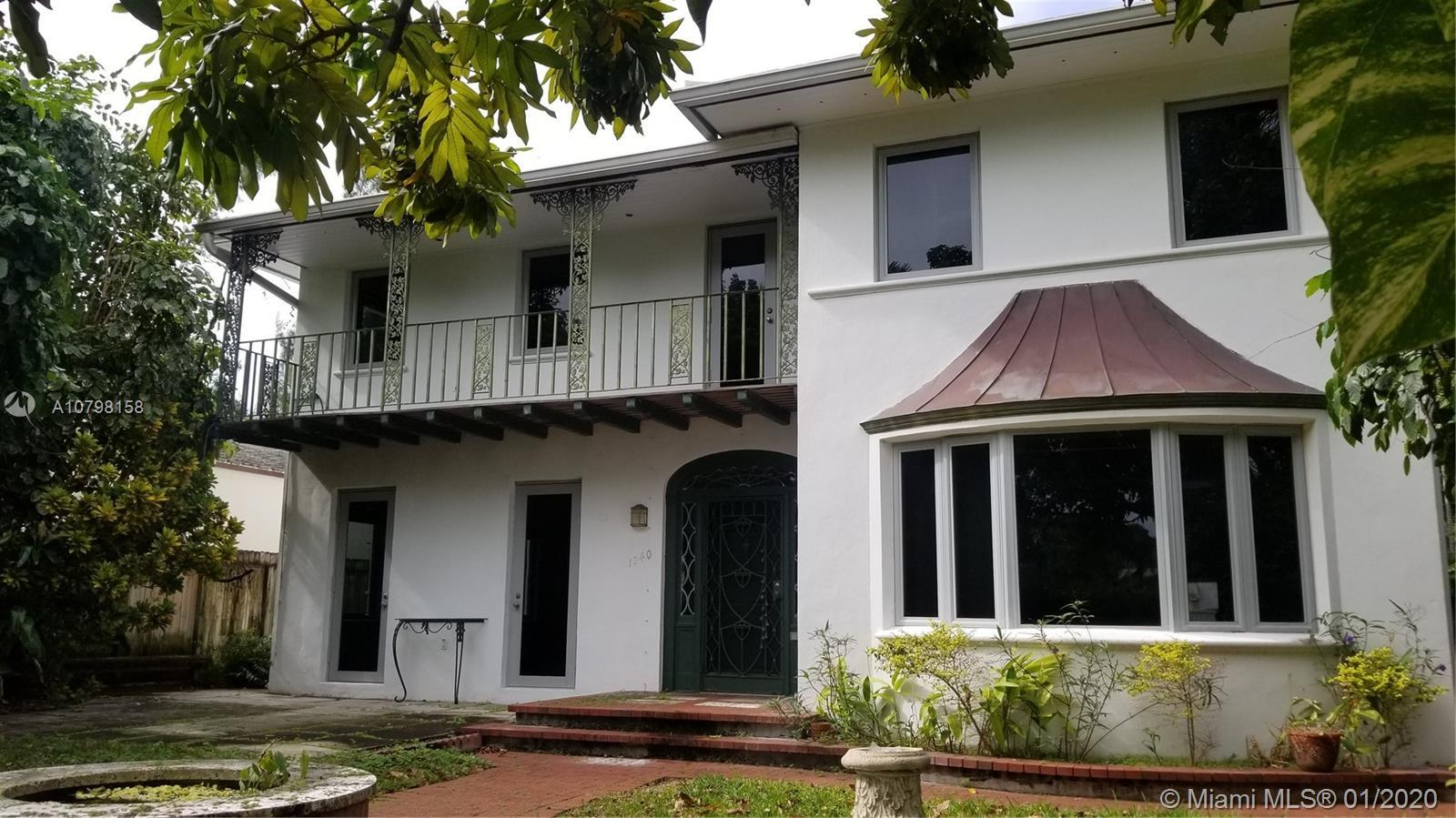 Beautiful Southern-Style home with plenty of charm and space. Impact windows & newer roof. Heart of