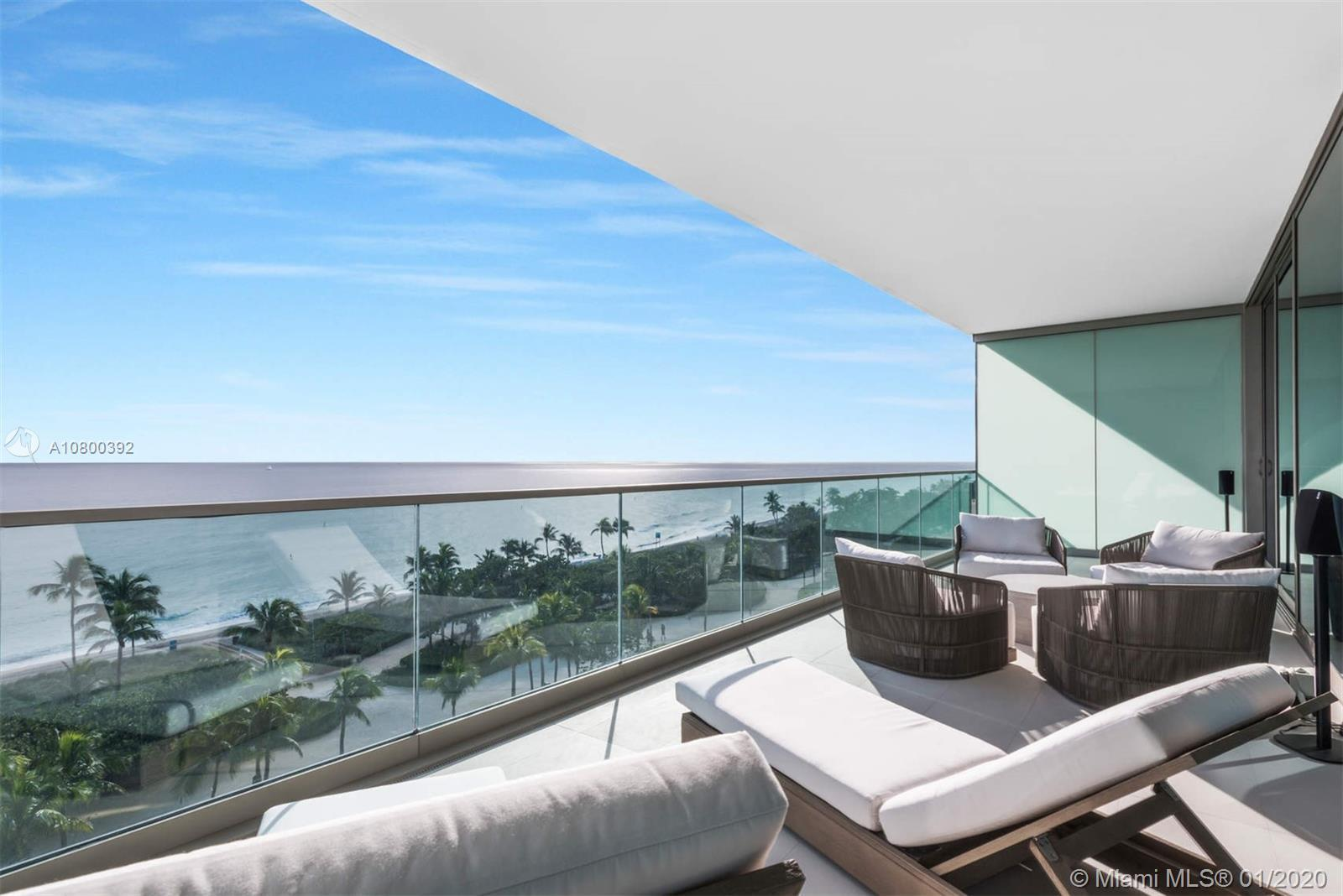 Spectacular Ocean Front unit with endless ocean views. Come see this ultra high-end unit in the newe