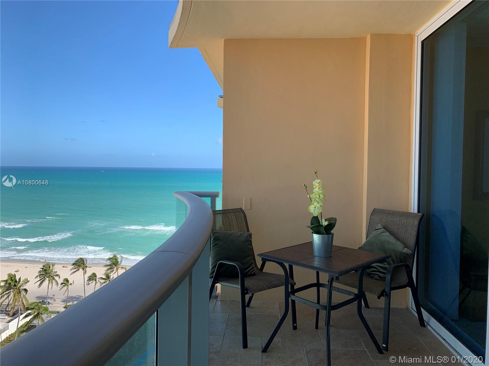 Enjoy spectacular ocean and city views from this fully furnished Studio located on the 16th floor at