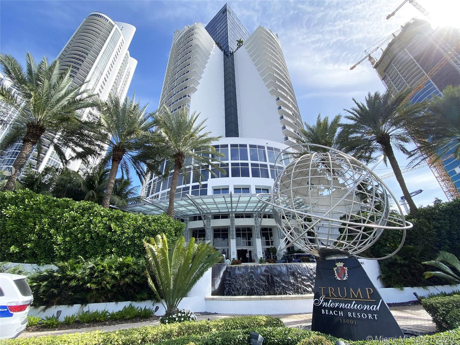 We welcome you to the world renowned Trump Towers in Sunny Isles. An amazing opportunity to own this