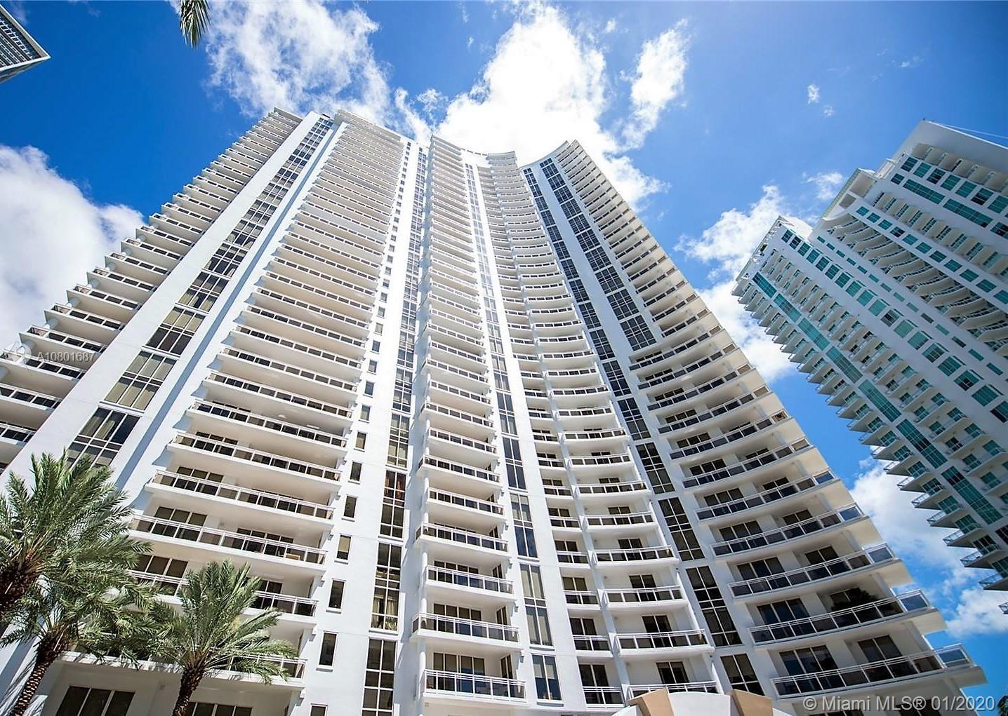 Beautiful corner unit with amazing bay, ocean, city, Miami river & skyline views in the unique and e