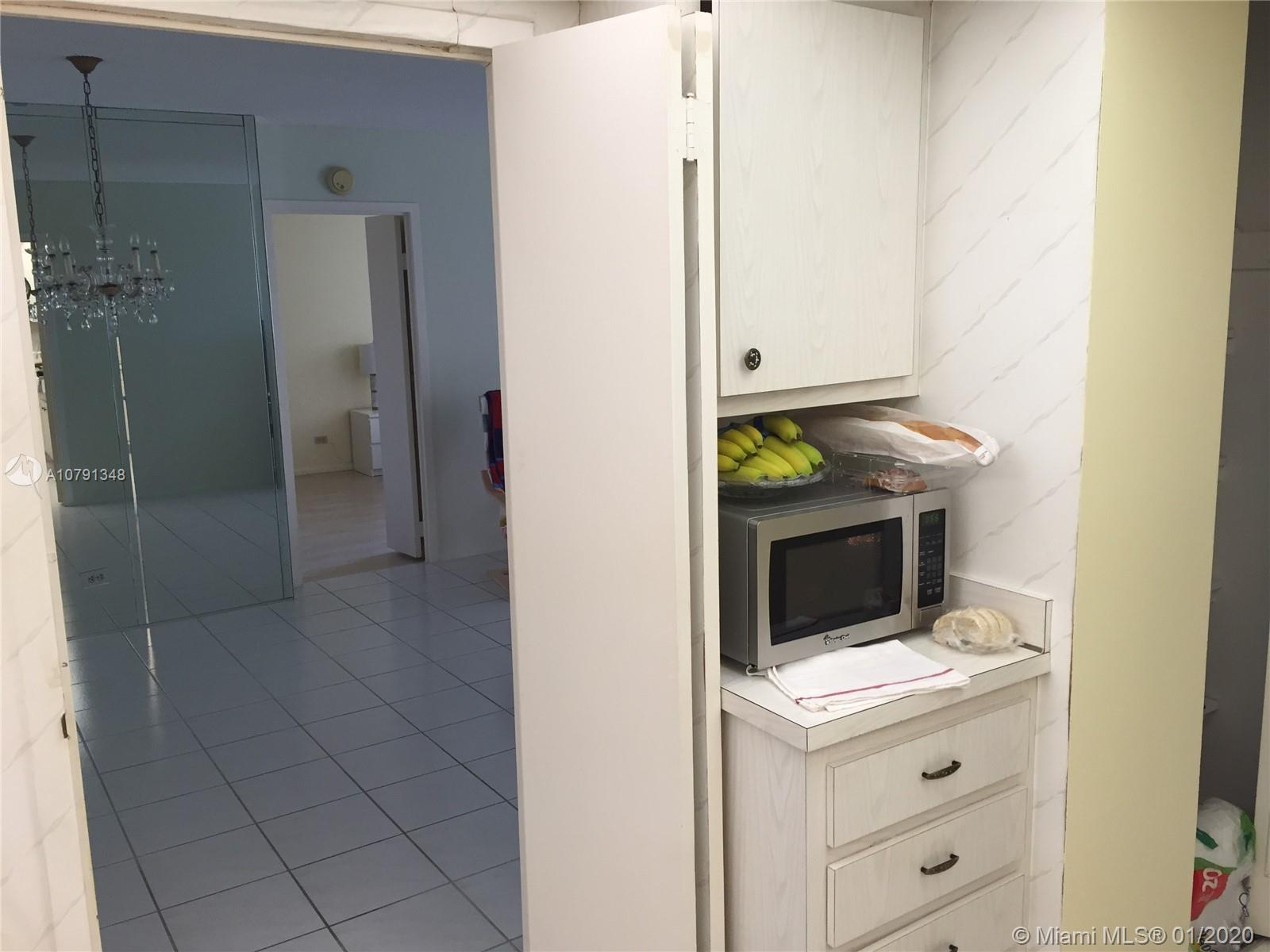 Convertible two bedroom two bath apartment, renovated balcony, new refrigerator and dish washer.  wa