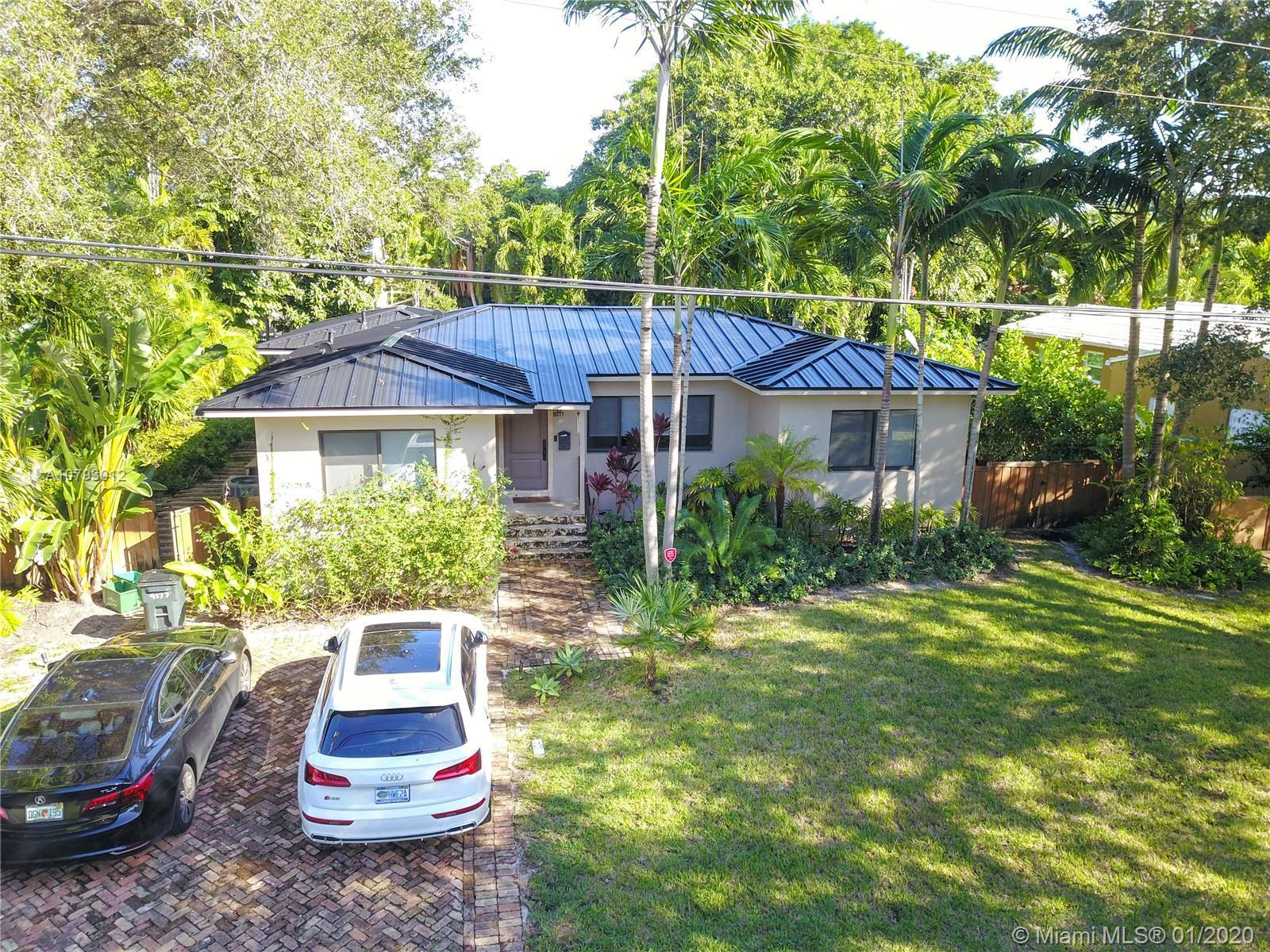 Completely remodeled in 2015, this spacious home in sought out Miami Shores neighborhood is east of