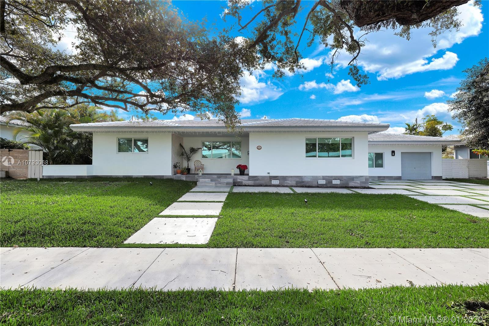 Remarkable Homes in the Heart of  Miami Shores, this property has been recently updated totaling $10