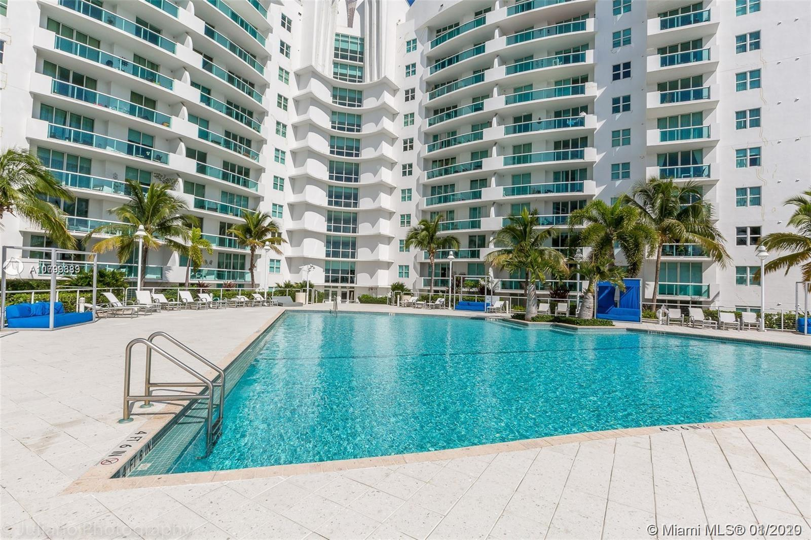 LUXURY WATER FRONT UNIT 2 BED / 2 BATH IN NORTH BAY VILLAGE. MODERN KITCHEN WITH GRANITE COUNTER TOP