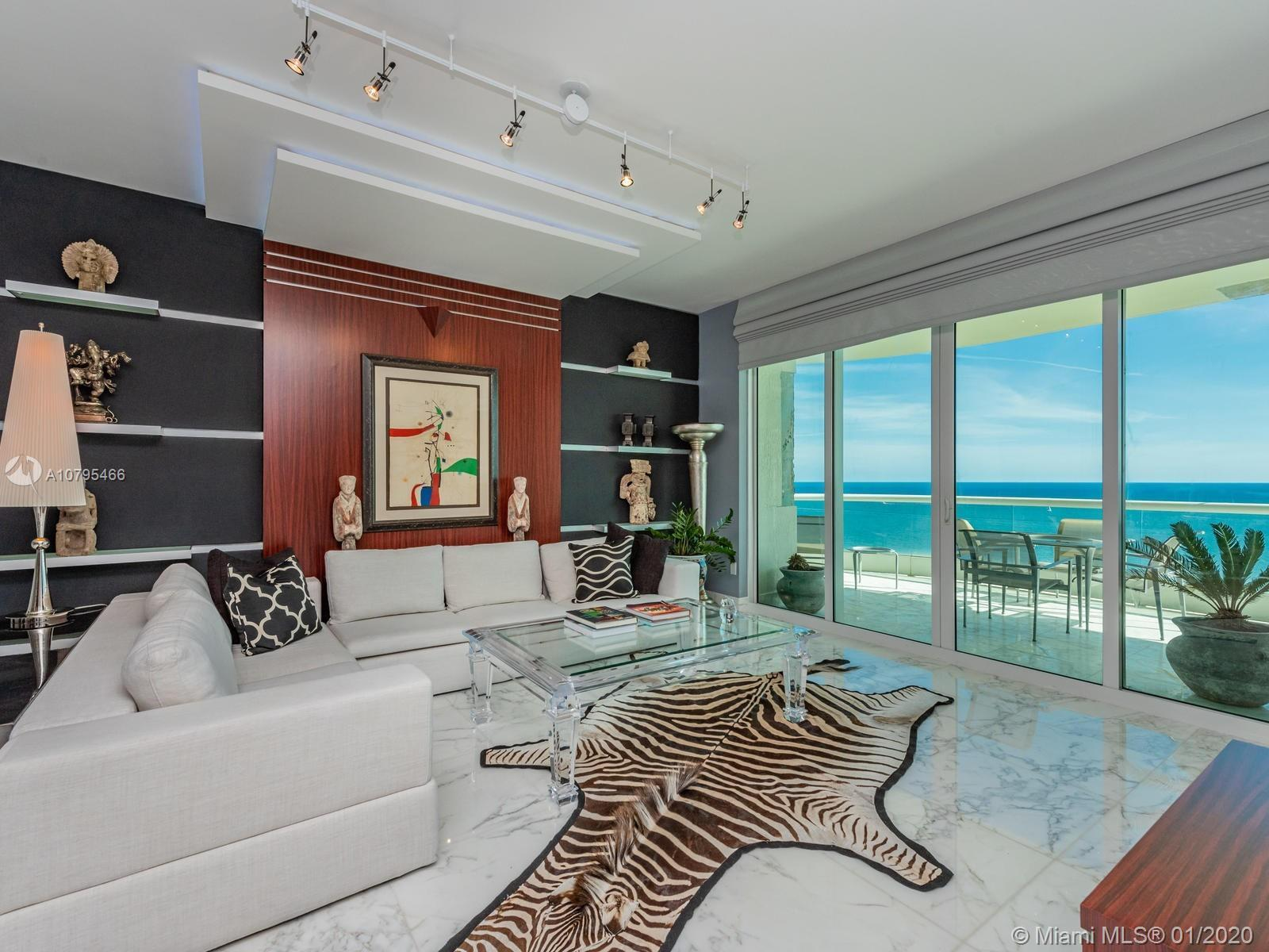 Direct ocean views from every room in this 2 oversized 2  bedroom / 2.5 bath . Private elevator, spl