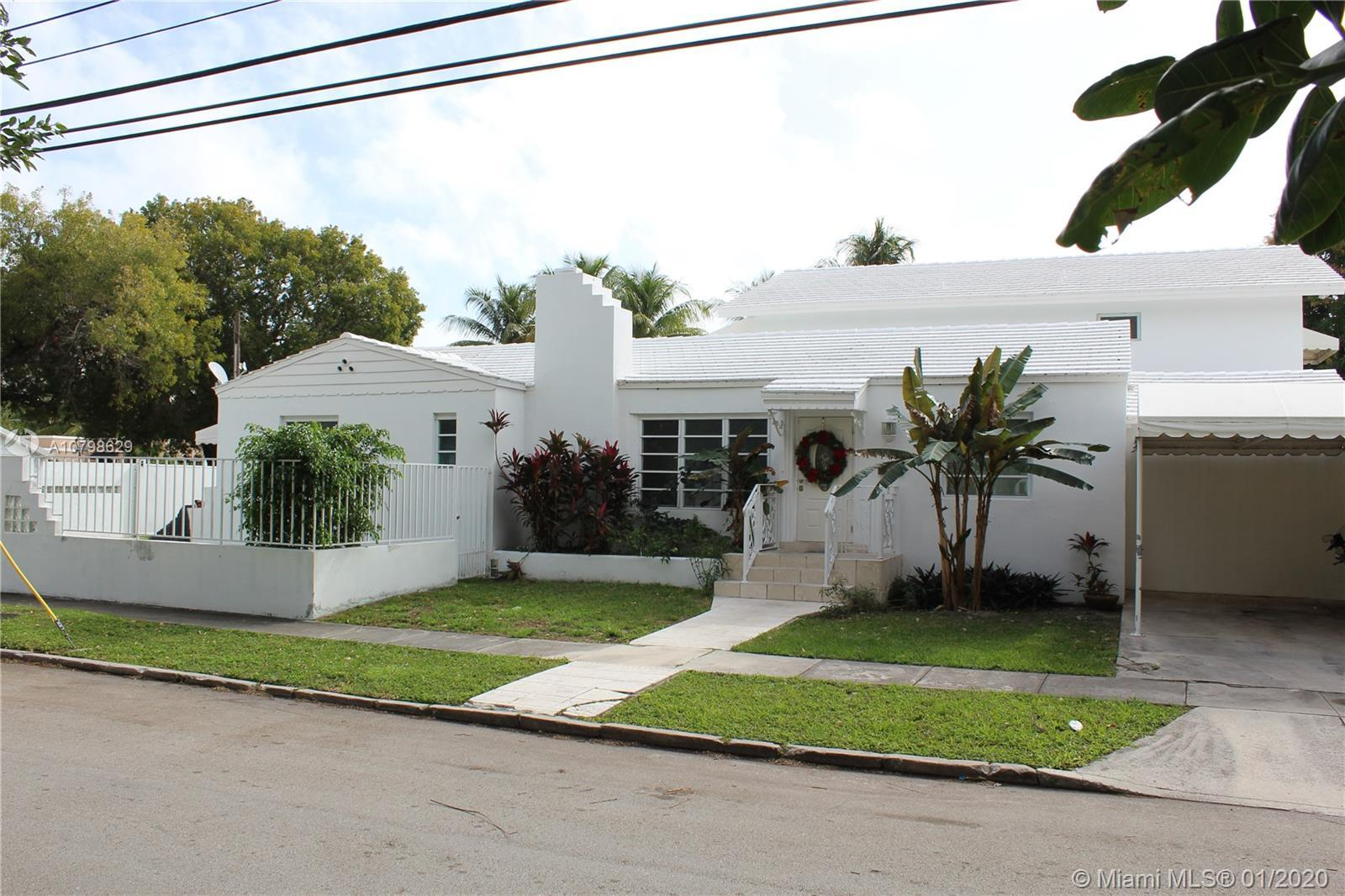 One Of A Kind Opportunity In Highly Sought & Historic Neighborhood Of The Roads. Remodeled With +/- 4000 SF Of Living Area & A 11,571 SF Oversized Corner Lot  With 6 Bed & 5 Full Baths 2  Minutes From Downtown Miami, Brickell, Key Biscayne, Coconut Grove, Coral Gables, Wynwood & Hospital's.  Property Boast's A Large Spacious Living Area With Large & Open Kitchen With High End Appliances & Custom Cabinetry With Island In The Center Perfect For A Large Family That Love's Entertaining.  In Law Quarter Or Guest Room With Private Kitchen & Bathroom In Second Floor With Open Floorplan & Views Of 8' Deep Pool & Lounge Area. Pool Area Is Open & Spacious With Room For RV & Boat With Plenty Of Room For Additional Parking With 7' Fence Around Perimete