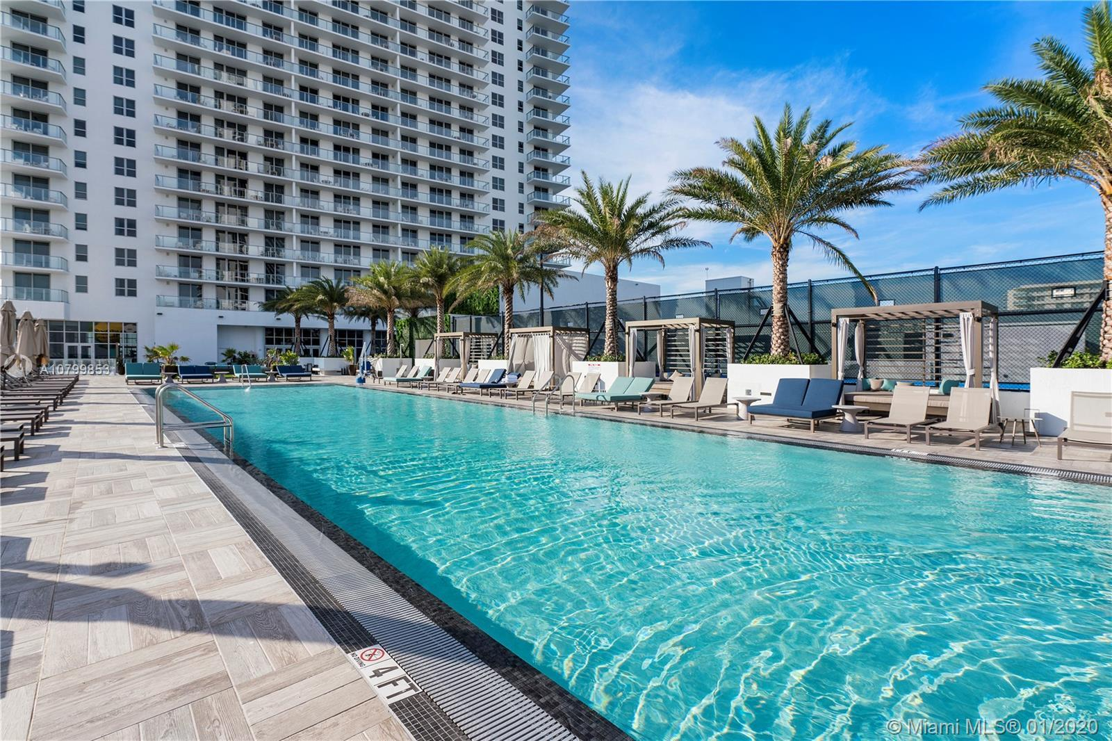 SHORT TERM RENTALS, HOTEL RENTAL PROGRAM OR AIRBNB RENTALS IN PLACE, LUXURIOUS BRAND NEW HYDE BEACH