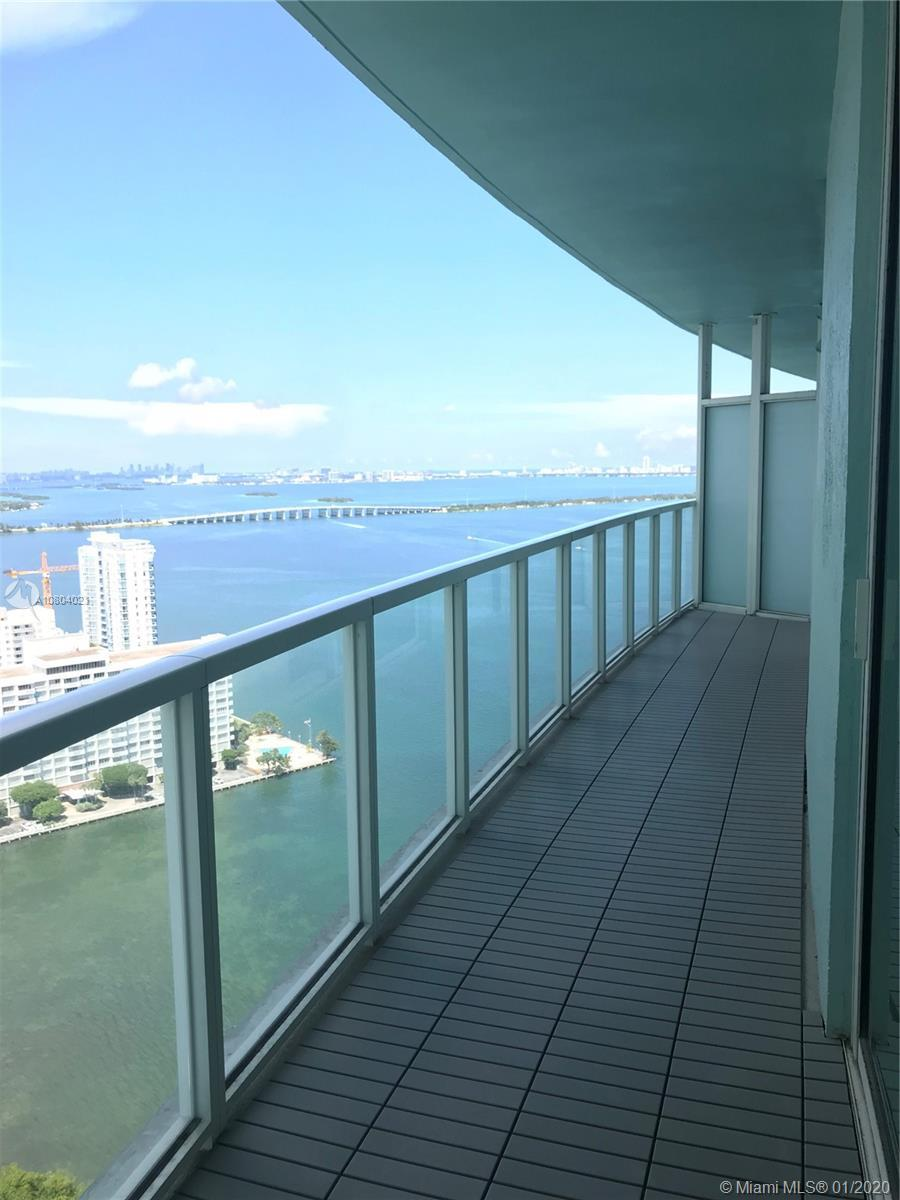 STUNNING UNOBSTRUCTED WATER VIEW I BED/ 1 BATH LARGEST UNIT 837 SQ FT. AT QUANTUM -DIRECT BAY VIEWS.