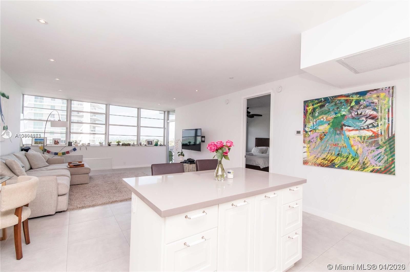 Tastefully renovated condo for Sale at Belle Plaza Condominium, in one of Miami Beach's most desirab